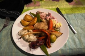 Christmas Dinner at the Olive Branch 25th Dec 2012